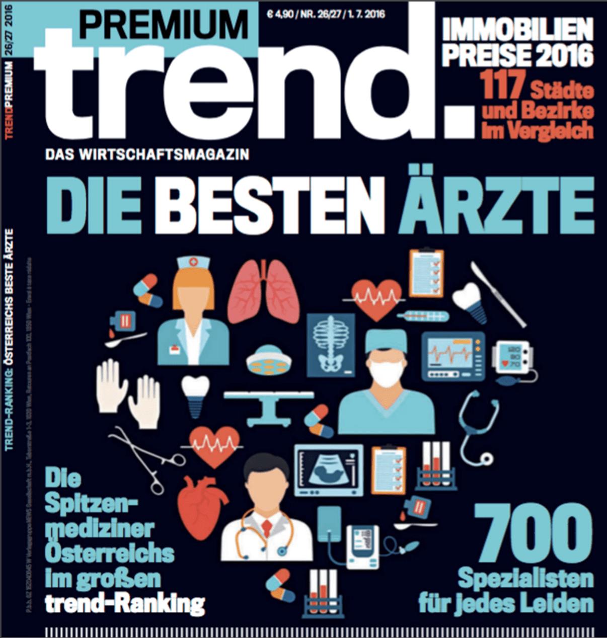 Trend Artikel - Österreichs Beste Ärzte